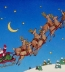 "<p>A depiction of <a title=""Read our article about Christmas"" href=""../S-deception_Catholic_pagan_Christmas_feasts"" target=""blank"">Santa Claus</a> being pulled through the sky on his reindeer-drawn sleigh. http://www.christmas-graphics-plus.com/free/santa-clipart4.html<br /><br /></p>"