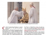 "<p>At the Vatican, on April 24, 2005, the day of the His ""Coronation"", Benedict XVI receives the Miter.</p> <p>http://chiesaviva.com/mitra%20satanica%20ing.pdf</p>"