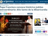 <p>https://www.aciprensa.com/noticias/papa-francisco-anuncia-un-ano-santo-de-la-misericordia-85927/</p>