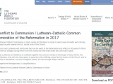 <p>From Conflict to Communion | Lutheran–Catholic Common Commemoration of the Reformation in 2017</p> <p>The Lutheran–Roman Catholic Commission on Unity invites all Christians to study its report open-mindedly and critically, and to walk along the path towards the full, visible unity of the Church.</p> <p> </p> <p>https://www.lutheranworld.org/content/resource-conflict-communion-basis-lutheran-catholic-commemoration-reformation-2017</p>