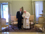 "<p>Pope John Paul II with George W. Bush. <br /><br />Source:<a href=""http://commons.wikimedia.org/wiki/File:John_Paul_II_and_George_Bush_2001.jpg"" target=""blank""> Wikimedia Commons (August 23, 1993).</a></p> <p>Watch <a href=""https://amazingdiscoveries.tv/media/134/221-a-new-world-order/"">A New World Order on ADtv</a> for more information. </p>"