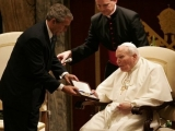 "<p>George W. Bush with Pope John Paul II in 2004</p> <p>Watch <a href=""https://amazingdiscoveries.tv/media/134/221-a-new-world-order/"">A New World Order on ADtv</a> for more information. </p>"