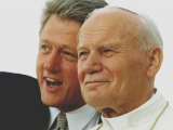 "<p>Bill Clinton with Pope John Paul II in 1993</p> <p>Watch <a href=""https://amazingdiscoveries.tv/media/134/221-a-new-world-order/"">A New World Order on ADtv</a> for more information. </p>"