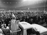 "<p>Pope John Paul II's first visit to the United States, 1979.</p> <p>Watch <a href=""https://amazingdiscoveries.tv/media/134/221-a-new-world-order/"">A New World Order on ADtv</a> for more information. </p>"