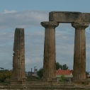 Temple of Apollo in Corinth. Source: aj bear on Flickr.
