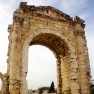 The triumphal arch of ancient Tyre. Source: Wikimedia Commons.