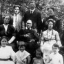 Ellen White surrounded by family, 1913.Source: Loma Linda University Archives.