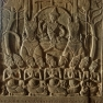 Aruna drives Sûrya's sun chariot. This 12th-century relief is found in the Angkor Wat temple built by