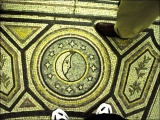 "<p>On the floor of St. Paul's Cathedral, we see the symbol of the serpent with its tail in its mouth, surrounded by stars and the half moon in the center—all symbols of <a title=""Read our article on Sun Worship"" href=""http://amazingdiscoveries.org/S-deception_end-time_paganism_Catholic_sun-worship"" target=""blank"">sun worship</a>. <br /><br /></p>"