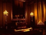 "<p>Inside the Lutheran Dom in Berlin are pictures of <a title=""Read our article: The Worship of Mary"" href=""../S-deception_paganism_Catholic_Mary_mediator"" target=""blank"">Mary</a> and candles burning. These would never have been approved by Luther. But Lutherans have made concessions to Rome. <a href=""../S-deception-unity_Luther_justification_ALCC"" target=""blank"">Read our article: Rome and the Lutheran Church</a>. <br /><br /></p>"
