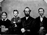 "<p>The White Family, 1856. <br /><br />Source: <a href=""http://www.whiteestate.org/photos/photos.asp"" target=""blank"">Ellen G. White® Estate Photographs</a>.</p> <p>Watch <a href=""https://amazingdiscoveries.tv/media/142/229-gods-guiding-gift/"">God's Guiding Gift on ADtv</a> for more information. </p>"