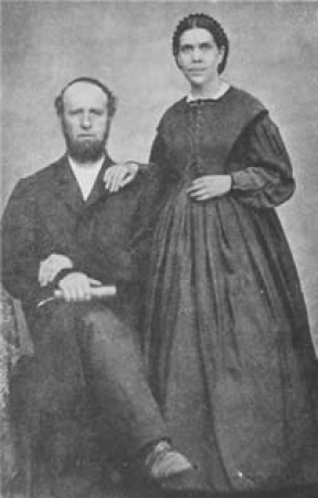 James and Ellen White. Watch God's Guiding Gift on ADtv for more information.