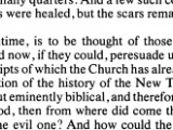 "<p>""What, in the meantime is to be thought of those blind guides – those deluded ones – who would now, if they could, persuade us to go back to those same codices of which the Church hath already purged herself?""</p> <p>Dean John W. Burgon, <em>Revision Revised</em>, J. Murray, 1883: 335 (as quoted in Unholy hands p xxxii) https://play.google.com/books/reader?id=OodLOdXpS-AC&printsec=frontcover&output=reader&hl=en&pg=GBS.PP31</p>"