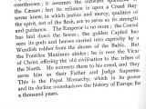 "<p><span data-sheets-value=""[null,2,""The Emperor is no more...but the Pontifex Maximus abides; he is now the Vicar of Christ, offering the old civilisation to the tribes of the North. He converts them to his creed, and they serve him as Father and Judge supreme.""]"" data-sheets-userformat=""[null,null,2817,[null,0],null,null,null,null,null,null,null,1,0,null,[null,2,3700253]]"">The Emperor is no more...but the Pontifex Maximus abides; he is now the Vicar of Christ, offering the old civilisation to the tribes of the North. He converts them to his creed, and they serve him as Father and Judge supreme.</span></p> <p><span data-sheets-value=""[null,2,""The Emperor is no more...but the Pontifex Maximus abides; he is now the Vicar of Christ, offering the old civilisation to the tribes of the North. He converts them to his creed, and they serve him as Father and Judge supreme.""]"" data-sheets-userformat=""[null,null,2817,[null,0],null,null,null,null,null,null,null,1,0,null,[null,2,3700253]]""><span data-sheets-value=""[null,2,""William Barry, The Papal Monarchy: From St. Gregory the Great to Boniface VIII, New York: G. P. Putnam's Sons, 1911: 45-46""]"" data-sheets-userformat=""[null,null,2817,[null,0],null,null,null,null,null,null,null,1,0,null,[null,2,3700253]]"">William Barry, The Papal Monarchy: From St. Gregory the Great to Boniface VIII, New York: G. P. Putnam's Sons, 1911: 45-46</span></span></p>"