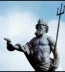 <p>Poseidon, ruler of the sea or underworld, holds a trident similar to the one carried by the hoofed sun god of Babylon. <br /><br /></p>