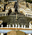 <p>St. Peter's Square. Notice the sunwheel pattern on the floor and obelisk (phallic symbol of Osiris) in the middle. Also notice the cross with the circle around it under the obelisk. <br /><br /></p>