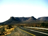 "<p>The Three Sisters in Karoo, South Africa. The fact that features such as these are on every single continent shows that there was a universal flood. If erosion is constantly happening, these features should also have eroded. </p> <p>Watch our series <a href=""https://amazingdiscoveries.tv/c/10/Genesis_Conflict_-_English/"">Genesis Conflict on ADtv</a> for more information. </p>"