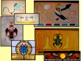 <p>Ancient Egyptian pagan symbolism in a Masonic temple.<br /><br /><br /></p>