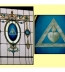 "<p>The Jesuit symbol and motto ""IHS"" on a Masonic temple's stained-glass window. <a title=""Read our article: Jesuits Behind Politics"" href=""../S-deception-Jesuits_French_Reformation_Hitler"" target=""blank"">The Jesuits control Freemasonry</a>.<br /><br /></p> <p><br />Watch <a href=""https://amazingdiscoveries.tv/media/124/212-hidden-agendas/"">Hidden Agendas on ADtv</a> for more information. </p>"