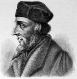 John Huss.   Public Domain. https://commons.wikimedia.org/wiki/File:Jan_Hus.jpg