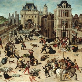 Saint Bartholomew's Day Massacre.  Public Domain https://commons.wikimedia.org/wiki/File:Francois_Dubois_001.jpg