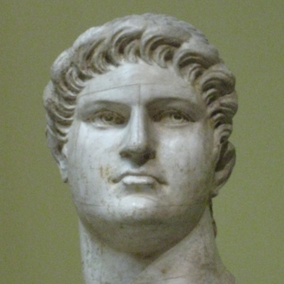 Bust of Nero.   Source: Wikimedia Commons.