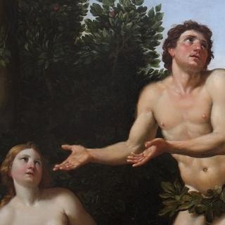 Public Domain https://commons.wikimedia.org/wiki/File:Zampieri_-_Adam_et_%C3%88ve_(d%C3%A9tail).jpg
