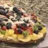 Jeanie Davis' Fruit Pizza.