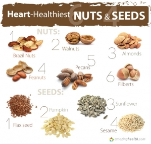 10 heart-Healthiest Nuts & Seeds