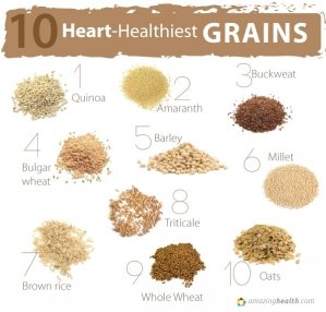 10 heart-Healthiest Grains