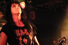 Blacky Lawless of heavy metal group W.A.S.P.Source: Wikimedia Commons.