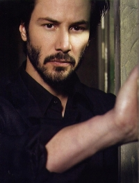 Keanu Reeves, who played Neo in The Matrix. Source: Danielle Belton on Flickr.