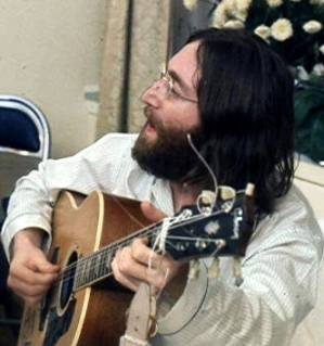 John Lennon. Source: Wikimedia Commons.