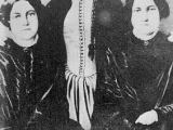 "<p><a title=""Read our article: Spiritism"" href=""../S-deception_United_Nations_New_Age_Findhorn"" target=""blank"">The Fox Sisters</a>—Margaret, Kate, and Leah—jumpstarted modern <a title=""Read our article: Spiritism Throughout Religions"" href=""../S-deception_New-Age_Spiritism_Hindu_philosophy"" target=""blank"">spiritism</a>. <br /><br />Source: <a href=""https://commons.wikimedia.org/wiki/File:Fox_sisters.jpeg"">Wikipedia.</a></p> <p>Watch our ADtv video on <a href=""https://amazingdiscoveries.tv/media/136/223-the-new-age-agenda/"">The New Age Agenda</a>. </p>"