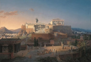 Public Domain https://commons.wikimedia.org/wiki/File:Akropolis_by_Leo_von_Klenze.jpg