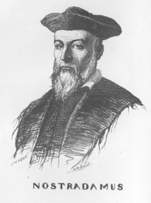 Public Domain https://commons.wikimedia.org/wiki/File:Nostradamus_by_Lemud.jpg