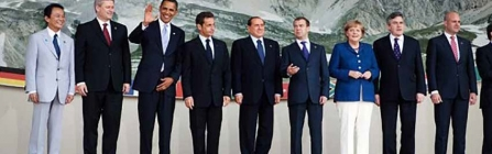 Public Domain https://commons.wikimedia.org/wiki/File:World_Leaders_at_G-8_Summit_in_Italy_07-08-09.jpg