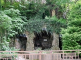 "<p>Mary in a grove in a Catholic monastery in Germany. Three arches are shown here which is very common in ancient pagan architecture. Arches are seen in the Saydanaya monastery and in the city of <a title=""Read our article: Petra and the Bible"" href=""../S-deception_Petra_Edomites_ruin"" target=""blank"">Petra</a>. Watch our ADtv video about the <a href=""https://amazingdiscoveries.tv/media/132/219-the-wine-of-babylon/"">Wine of Babylon</a> for more information.&nbsp;</p>"