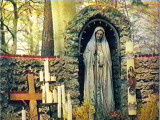 "<p>You will often find Mary depicted in a cave setting when you visit the gardens of Catholic churches. This is just like the ancient goddess of the grove. Here is a statue of Mary in a grotto in a Catholic monastery in Germany. Arches, grottos, and caves are common in Mary veneration.&nbsp;Watch our ADtv video about the&nbsp;<a href=""https://amazingdiscoveries.tv/media/132/219-the-wine-of-babylon/"">Wine of Babylon</a>&nbsp;for more information.&nbsp;</p>"