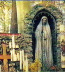 <p>You will often find Mary depicted in a cave setting when you visit the gardens of Catholic churches. This is just like the ancient goddess of the grove. Here is a statue of Mary in a grotto in a Catholic monastery in Germany. Arches, grottos, and caves are common in Mary veneration. </p>