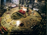 <p>St. Peter's Basilica. Note the pagan symbols all around the room. <br /><br />Copyright Amazing Discoveries.</p>