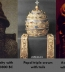 <p>Babylonian, Assyrian, and Roman Catholic triple crowns. </p>