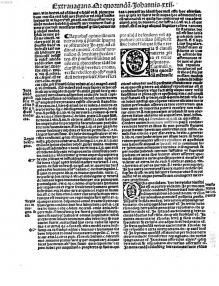 Bonifatius [Papa, VIII.]: Sexti libri materia cu[m] capitulorum numero (1508) . http://www.bsb-muenchen-digital.de/~web/web1016/bsb10162214/images/index.html?digID=bsb10162214&pimage=944&v=100&nav=0&l=de. Here's another printing of the same document: http://daten.digitale-sammlungen.de/0001/bsb00018941/images/index.html?fip=193.174.98.30&id=00018941&seite=67 Watch That All May Be One on ADtv for more information.