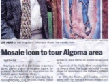 "<em>""I&#039;ve got (the Virgin Mary&#039;s) eyes when I&#039;m in front of the icon.""</em><br /><br><em> Sault Star</em> (September 2000), Sault Ste. Marie, Canada."