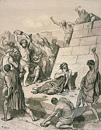 1st Christian Martyr Public Domain https://commons.wikimedia.org/wiki/File:The_Death_of_Stephen_by_Gustave_Dor%C3%A9.jpg