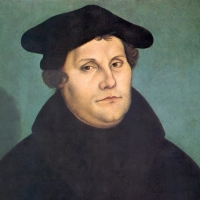 Martin Luther Public Domain https://commons.wikimedia.org/wiki/File:Martin_Luther_by_Cranach-restoration.tif