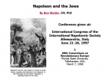 "<p>Repairing the Breach Lecture 273. <a href=""http://www.napoleon-series.org/ins/weider/c_jews.html"" rel=""nofollow"" target=""blank""> Go to this site</a> or <a href=""http://amazingdiscoveries.org/addownload.html?resource_id=2079"" target=""blank"">download a PDF copy of this webpage here</a></p>"
