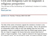"<p>Repairing the Breach Lecture 274. <a href=""http://www.guardian.co.uk/uk/2008/feb/07/religion.world2"" rel=""nofollow"" target=""blank""> Go to this site</a> or <a href=""http://amazingdiscoveries.org/addownload.html?resource_id=2100"" target=""blank"">download a PDF copy of this webpage here</a></p>"