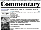 "<p>Repairing the Breach Lecture 273. <a href=""http://www.commentarymagazine.com/article/speaking-of-jews-by-lila-corwin-berman/"" rel=""nofollow"" target=""_blank""> Go to this site</a> or <a href=""http://amazingdiscoveries.org/storage/2084"" target=""_blank"">download a PDF copy of this webpage here</a></p>"