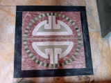 "<p>The tau on the floor of a Cathedral of London.<br /><br />J. Ward, <em>Freemasonry and the Ancient Gods </em>(London, England: Simpkin, Marshall, Hamilton, Kent and Company, 1921): 241:<br /><br /><em>The tau cross is also a <a href=""http://amazingdiscoveries.org/albums/a/5602900263238358209"" target=""blank"">symbol of the male or creative side of the deity</a>, and is really a conventionalized form of the phallus...it often stands for our animal passions.</em></p>"